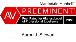 AV Preeminent Peer Review Rating – Martindale Hubble